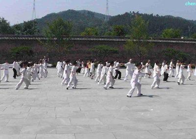 tai chi in Wudang