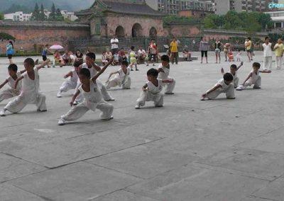 wudangshan miercuri exersare copii